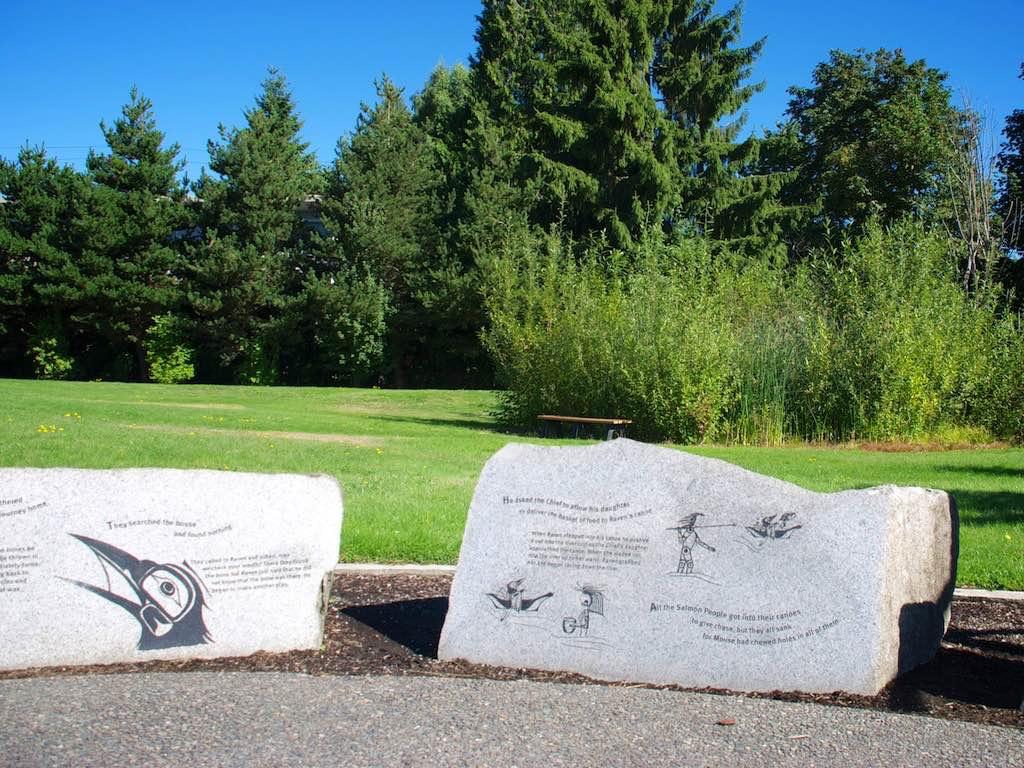 Story Boulders Display