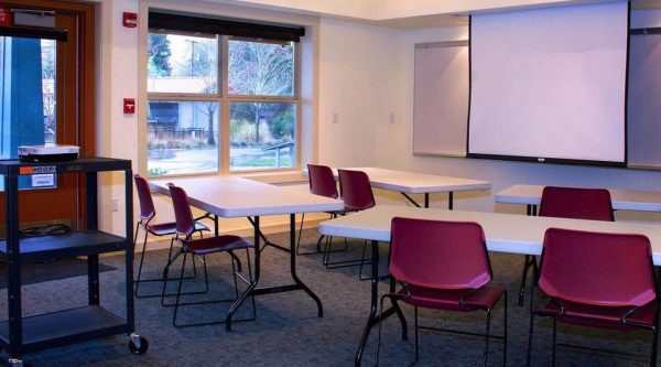 Watershed Science Center-Class Set-Up with AV